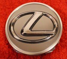 Lexus Genuine 2010-2017 Dark Silver Logo Wheel Center Hub Cap NEW OEM