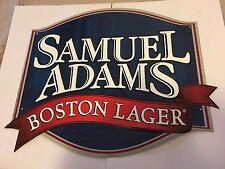 Samuel Adams Boston Lager Tin Sign Approx 15x13