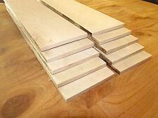"""10 Thin Sanded Kiln Dried Persimmon 12"""" X 3"""" X 1/4"""" Lumber Wood Scroll Saw"""