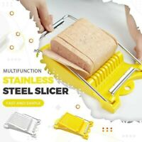 Kitchen Gadget Tools Stainless Steel Boiled Egg Ham Fruit Luncheon Meat Slicer