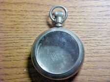 Dueber Silverine 18S Leverset Open Face Pocket Watch Case
