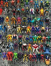 MARVEL UNIVERSE 90'S LOT of 75 LOOSE ACTION FIGURES! X-Men Avengers, Fantastic 4