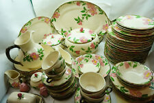 FRANCISCAN DESERT ROSE CHINA 73 PC SET DINNER PLATES PLATTERS BOWLS SERVING USA & Vintage Original Desert Rose Franciscan China u0026 Dinnerware | eBay