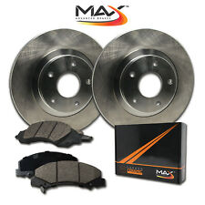 2007 Chevy HHR w/Rear Drum Brake OE Replacement Rotors w/Ceramic Pads F
