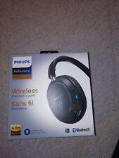 PHILIPS SHB 7250/00 kabellos, faltbar, 32 Ohm Bluetooth-Kopfhörer schwarz