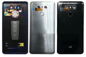 For LG G6 Battery Back Cover Door Glass Home Button Fingerprint Camera Lens New