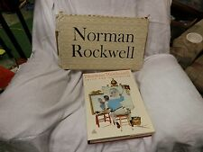 Norman Rockwell Artist Illustrator Buechner 1970 First Edition Hardcover w/box