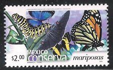 pc061 Mexico Conserva MNH paper 3 Sc#2409 Mc#3106 Et#mc061 butterflies