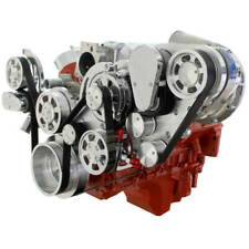 Cvf Chevy Ls Engine Procharger P1sc Serpentine Kit With Alternator Only Polished