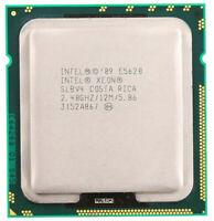 Intel Xeon Quad E5620 2.4GHz 5.86GT/s 12MB SLBV4 LGA1366 CPU Processor