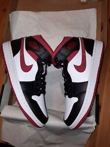 Nike Air Jordan 1 Metallic Red Bred Chicago Retro Men's Size 11 554724-122