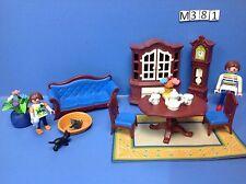 (M381) playmobil salle à manger contemporaine ref 5327 5301