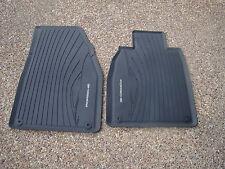Porsche 991 & 981 OEM Factory Original Equipment Black Rubber Floor Carpet Mat