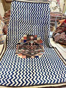 Auth: 50's Tribal Moroccan Rug    Mid Century Modern ART Masterpiece  7x10  NR
