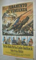 Filmplakat,Plakat,JURAMENTO DE VENGANZA,CHARLTON HESTON,RICHAD HARRIS#80