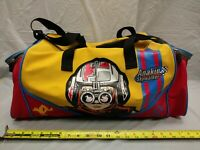 Vintage Star Wars Anakin Skywalker Pod Racing Duffle Gym Bag Rare Yellow Version