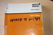 CASE IH 1550 Dozer Tractor Crawler Parts Manual book catalog list index spare
