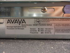 S3500-MAS Avaya 2U high rack mounted server that stores voicemails USED!