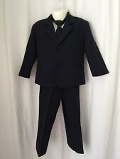 Toddler 4 Pc Dark Blue Suit size 3T