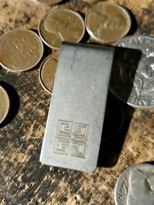 Vtg / Used / Givenchy / Money Clip / *Plating Worn Off