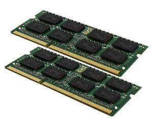 2x 4GB 8GB Notebook RAM DDR2 667 Mhz SO-Dimm PC2-5300S 200 pin Speicher Laptop