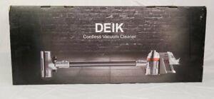 NEW DEIK 2 in 1 Bagless Cordless Hand held Light Vacuum ZB1516  A3