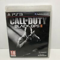 """Call Of Duty Black Ops 2 II for Playstation 3 PS3 includes manual """"FREE UK  P&P"""""""