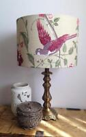 LAURA ASHLEY SUMMER PALACE CRANBERRY LAMPSHADE VARIOUS SIZES - 20CM 30CM 40CM