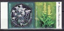 Bosnia & Herzegovina (Muslim Adm) Sc 441 NH ISSUE of 2003 - Flowers - pair