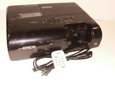 Epson PowerLite 77C 3Lcd Projector Hdmi W/ Remote cables