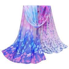 Women Lady Fashion Pretty Long Soft Chiffon Scarf Wrap Shawl Stole Scarves Hot