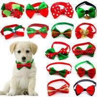 Pet Dog Cat Christmas Accessories Bow Tie Cute Adjustable Necktie Collar Bowtie
