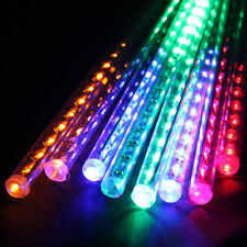 8*12inch 140LEDs Color Waterproof Tube Meteor Shower Rain String Lights for Xmas