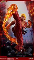 PCS Street Fighter Ken Masters Ultra Dragon Flame 1/4 Statue Pop Culture Shock