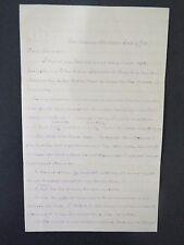 Samuel Hopkins Autograph Letter - Congregational Clergyman