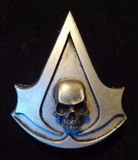 Assassins Creed Black Flag badge pin