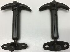 WW2 Jeep Hood To Windshield Catches Pair 2 N.O.S