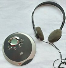 Durabrand Portable Programmable Cd Player 895 Compact Disc Man Headphones 2a