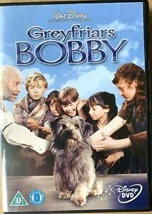Greyfriars Bobby DVD 1961 True Story of a Dog Walt Disney Live Action Film Movie