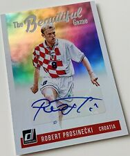 2018-19 Panini Donruss Soccer Prosinecki The Beautiful Game Autograph - Croatia