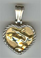 New Jenny Perl Sterling & 18kt Gold Cameo Enhancer, priced below cost
