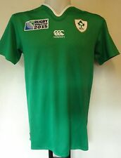 IRELAND RWC 2015 BOYS S/S HOME PRO RUGBY JERSEY BY CANTERBURY SIZE 10YEARS BNWT