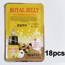 Korea Cosmetics 18pcs [Malie] 16 Kinds of Ultra Hydrating Essence Mask Sheet 25g