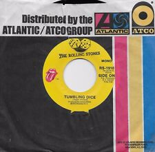 THE ROLLING STONES  Tumbling Dice / Sweet Black Angel  rare 45