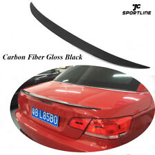 Carbon Fiber Rear Trunk Spoiler Lip Wing Fit for BMW E93 325i 328i 2007-2013