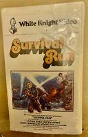 Survival Run 1977 VHS Video Rutger Hauer Paul Verhoeven  Rare OOP