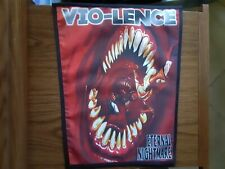 VIO-LENCE,ETERNAL NIGHMARE,SEW ON SUBLIMATED LARGE BACK PATCH