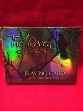 Edgar Allen Poe The Raven Bridge Sized Playing Cards New By Cartamundi
