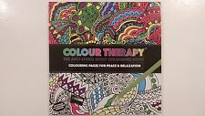 PMS 2x 120 Page Adult Colouring Book Art Therapy Anti Stress Colour Zen Soothing
