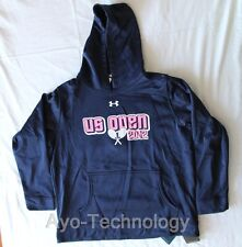 Under Armour coldgear Hoodie talla s azul *** nuevo *** us open, tenis